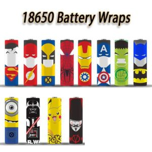 BATTERY WRAPS ASSORTED